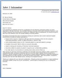use this free sample cover letter for a pharmacy technician when applying for jobs in your industry pharmacy technician cover letter examples