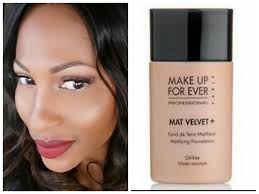 makeup forever mat velvet matifying foundation review