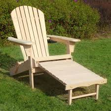 outdoor merry s adirondack chair kit with pullout ottoman adc0302200000