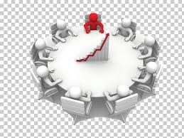 Round Table Meeting Stock Photography Illustration Business