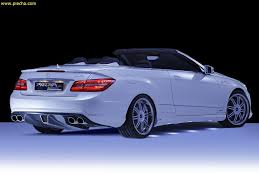 Mercedes Benz E-Class Cabriolet gets some attention from PIECHA ...