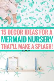 25 decor ideas for a mermaid nursery