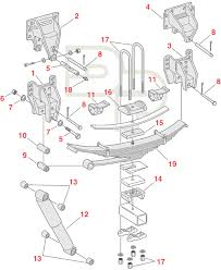 Ford Leaf Spring Code Chart Ford Replacement Suspenson Parts Stengel Bros Inc