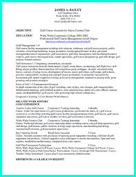 Organized Resume Template It Is Necessary To Make Well Organized College Golf Resume A Well 4