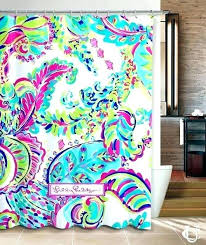 lilly pulitzer bedroom curtains lilly bathroom new custom lilly colorful shower curtain and best quality money back guarantee decorating