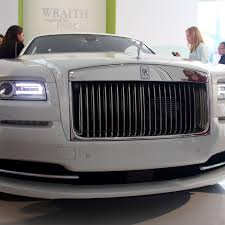Vehicle deals starting price total available; Rolls Royce S New Fashion Inspired Wraith Is Haute Couture On Wheels The Verge