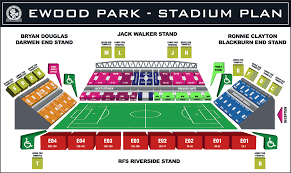 Uk Football Stadium Seating Chart Stadium Plan Blackburn Rovers