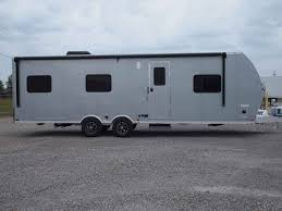 2018 used atc aluminum trailer pany 8 5 x 28 bedroom toy hauler in missouri mo