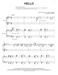 adele sheet music hello piano sheet music by adele 4 hands