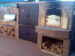 brick pizza oven with smoker