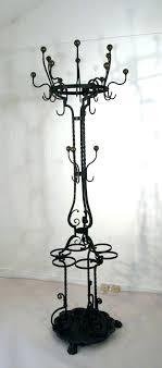 coat rack antique wrought iron coat rack wrought iron coat rack antique blacksmith made wrought iron coat rack antique