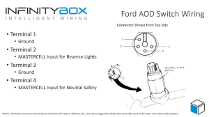 neutral safety • infinitybox neutral safety switch and reverse switch
