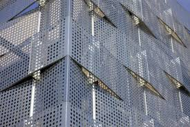 architectural perforated metal panels. architectural perforated steel metal panels l
