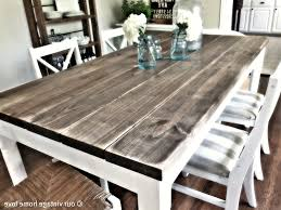 appealing farmhouse dining table extension farm oval reclaimed wood solid round and chairs plans for farmhous