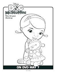 Printable Doc Mcstuffins Coloring Pages Doc Coloring Page Doc