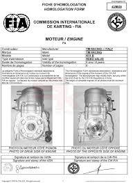 Data Sheet - Engine K11B | Superkart.it, spare parts for go kart