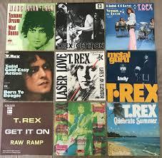 T Rex Lot Of 9 Singles Holland Belgium German And Uk