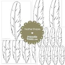 feather template owl printable feather template shape templates midcitywest info
