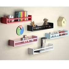 wall shelf wood 17 5 inch