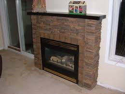 Decorating Amusing Design Of Fireplace Surround Kits For Pretty Faux Stone Fireplace Mantel
