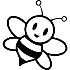 Small Picture Coloring Pages Draw A Bee clarknews