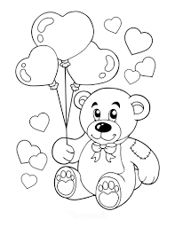 Show them the proper way how to color. 50 Free Printable Valentine S Day Coloring Pages