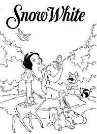 Coloring Pages Of Snow White Printable 2208 Disney Princess