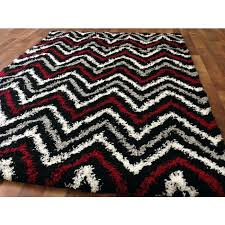 red and gray area rug black contemporary zigzag gy area rug red gray white black zigzag stripes pattern modern abstract rug red gray and white area