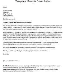 6 Proposal Cover Letter Templates Proposal Templates Pro
