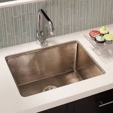 hammered nickel sink. Fine Nickel Cocina 24 Brushed Nickel Kitchen Sink To Hammered R