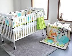 jungle bedding sets elegant toddler monkey crib