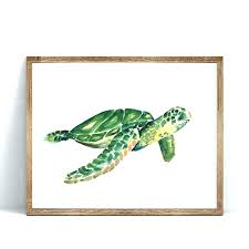 fantastic turtle wall decorations e2001112 turtle wall decorations watercolor sea turtle art print poster wall art