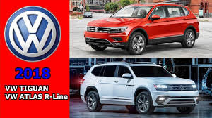2018 volkswagen atlas r line. contemporary volkswagen 2018 vw tiguan vs atlas rline  what do you think intended volkswagen atlas r line a