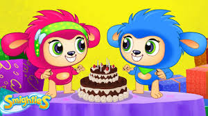 Smighties Giant Surprise Birthday Cake Party Cartoons For Kids