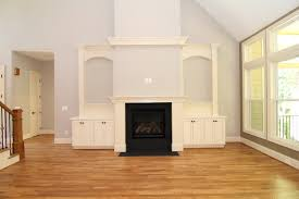 Built In Cabinets Beside Fireplace First Floor Master Custom Floor Plan Cary Stanton Homes