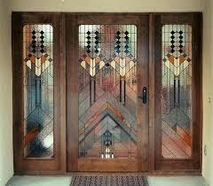 stain glass door stained glass door