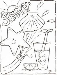 Small Picture Summer Coloring Pages