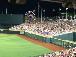 Td Ameritrade Park Omaha Seating Chart Night Game With Ferris Wheel In The Background Picture Of