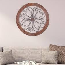 pinnacle rustic decorative scroll wooden wall art