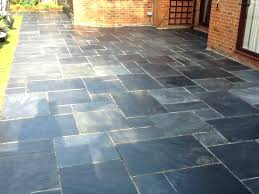 slate patio tiles paving red tile cleaner cleaning effective porch flooring options black