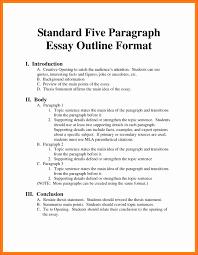 Write Outline Essay Mla Format Appraisal