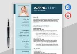 Modern Resume Template Ms Word | Maxresumes