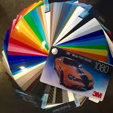 3m Vinyl Wrap Color Chart 3m Scotchprint Car Wrap Film 1080 Series 3m 1080 Vinyl
