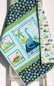last one dinosaur baby quilt blanket