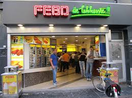 Vending Machine Store Simple Burger Champions FEBO Amsterdam