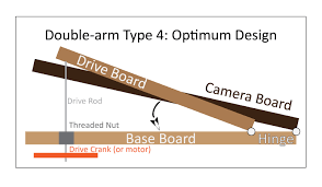 type 4 double arm barn door tracker