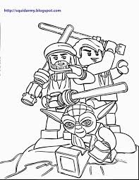 Lego Star Wars Coloring Pages Squid Army For Lego Star Wars Coloring