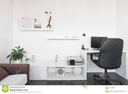 Living Room Computer Desk Modern Living Room With Computer Desk Royalty Free Stock