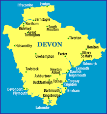 uglow family history Uk Map Devon here is a larger scale map of devon and map of devon uk
