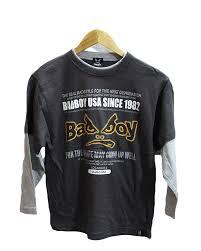 Bad Boy T Shirt Size Chart Badboy Printed Black Cotton T Shirt For Men Streetstore Pk